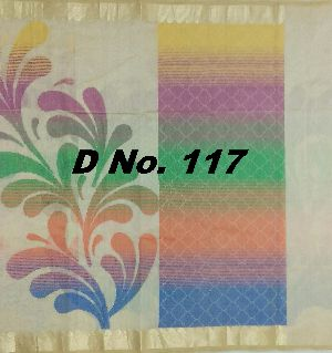 117 Designer Supernet Saree