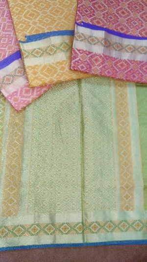 Multi colour design Saree