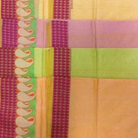 Paisley Border Plain Saree