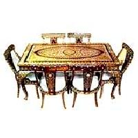 Antique Dining Table Set WF-01