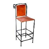 Iron Wooden Chair - (wf-02)
