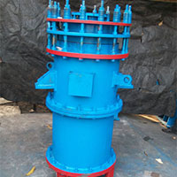 Graphite Heat Exchanger Vertical