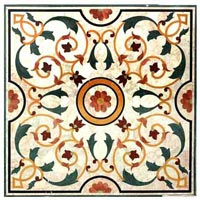 Marble Inlay Floor-mif-012