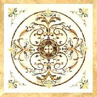 Marble Inlay Floor-mif-017