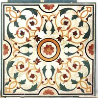 Marble Inlay Floor-mif-018