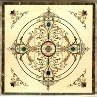 Marble Inlay Floor-mif-019