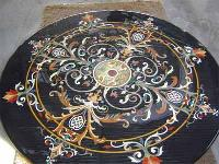 Marble Inlay Table Tops MIT-005