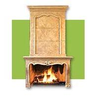 Sandstone Fireplace Sf-001