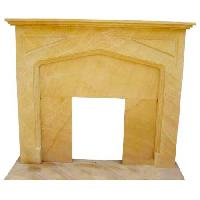 Sandstone Fireplace -sf-012