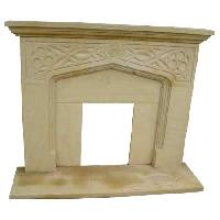 Sandstone Fireplace - SF-015