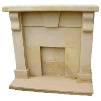 Sandstone Fireplace -SF-017
