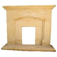 Sandstone Fireplace- SF-019