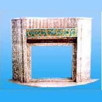 Semi Precious Stone Inlay Fireplace MF-002