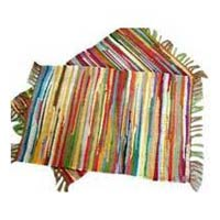 Multi Striped Chindi Rugs