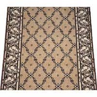 Beige Checkered Rugs