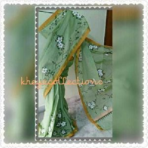 Hand Painted Kerala Cotton Sarees
