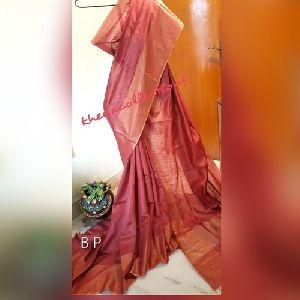 Muga Tussar Silk Sarees