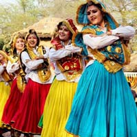 Haryanvi Dance Dress