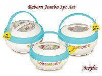 Reborn Jumbo Acrylic Hot Pot Set