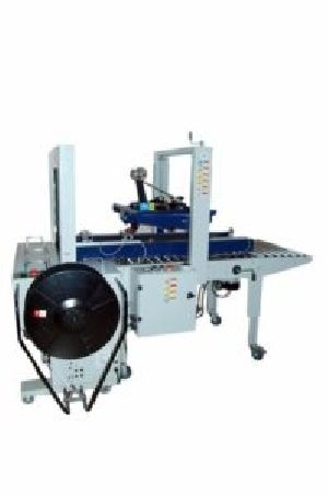 Carton Sealer Machine With Strapping