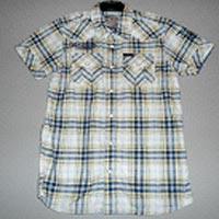 Kids Cotton Half Sleeve Shirt 05