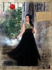 Black & Golden Gown (10002)