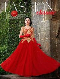 Red & Golden Gown (10007)