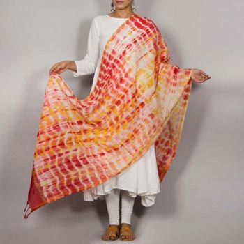 Shibori Cotton Dupatta