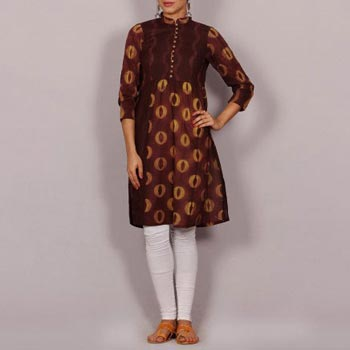 Shibori Cotton Kurta