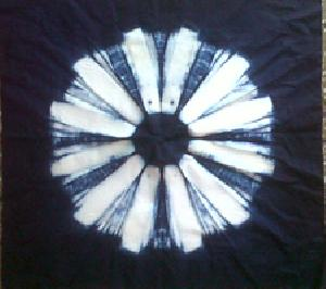 Customized Shibori Job Work 18