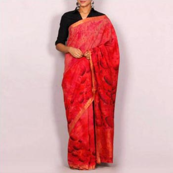 Hand Painted Handloom Cotton Sarees