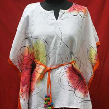 Hand Painted Kaftan