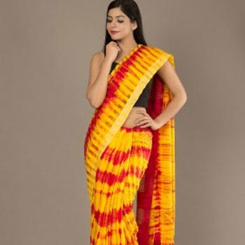 Noil Silk Saree