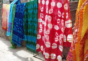 Customized Shibori Job Work 10