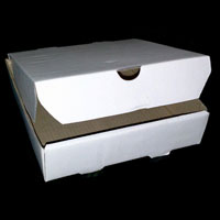 Plain Pizza Boxes
