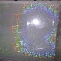 Transperent Holographic Cold Transfer Foil HRI 3