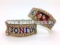 Couple Name Bangle 18