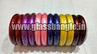 Plain Glass Bangle 17