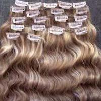 Remy Virgin Clip Hair