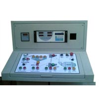 Batch Mix Plant Control Panel