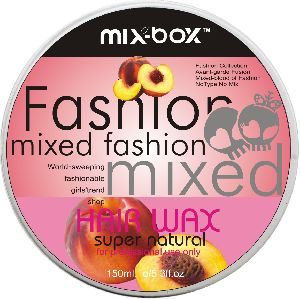Mix Box Hair Wax Apricot