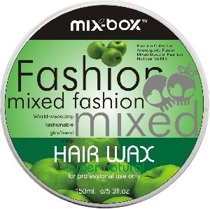 Mix Box Hair Wax Green Apple