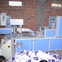 Single Size Double Deck Paper Napkin Machine