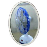 Solar Table Fan with LED Lighting