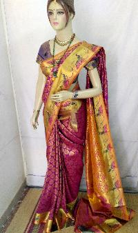 Brocade Art Silk Saree