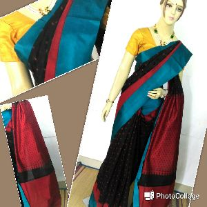 Pure Silk Cotton Saree 02