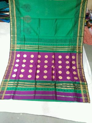 Pure Silk Cotton Saree 08