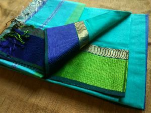 Pure Silk Cotton Saree 12