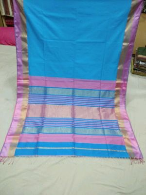 Pure Silk Cotton Saree 14