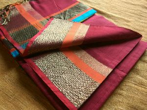 Pure Silk Cotton Saree 16